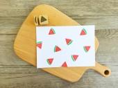 【原創印章系列】《西瓜》水果套色印章/用小創意玩出大樂趣~獨家限定販售中