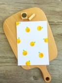 【原創印章系列】《橘子》水果套色印章/用小創意玩出大樂趣~獨家限定販售中