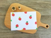 【原創印章系列】《草莓》水果套色印章/用小創意玩出大樂趣~獨家限定販售中