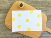 【原創印章系列】《檸檬》水果套色印章/用小創意玩出大樂趣~獨家限定販售中
