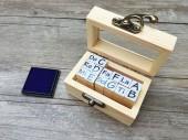 【印章周邊系列】手工木盒/印章盒/原木盒